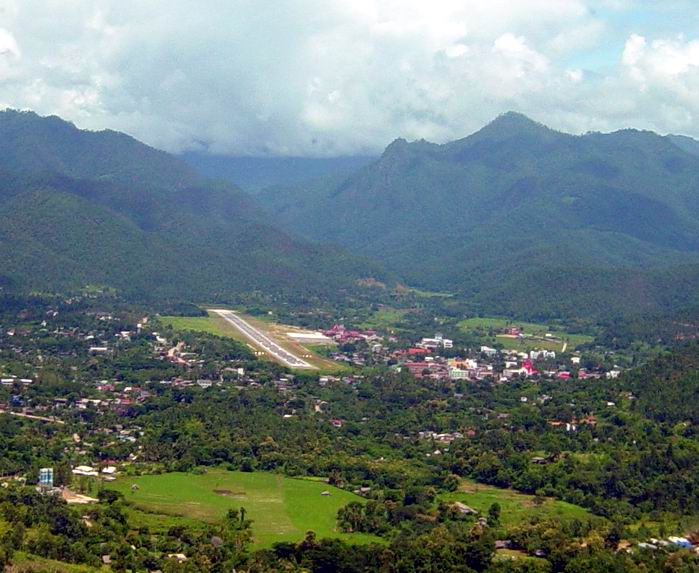 Mae Hong Son Thailand  City pictures : Map of Airstrip: http://www.aisthai.go.th/webais/pdf ...