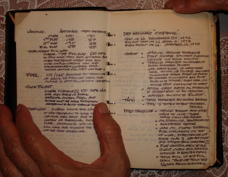 Adjan Krisda's flying notebook